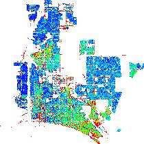 Long Beach California CA profile population maps real estate