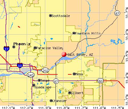 Gallery For Gt Salt River Map