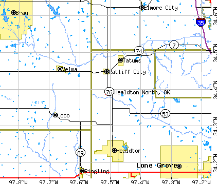 Healdton North, Oklahoma (OK) profile: population, maps ...