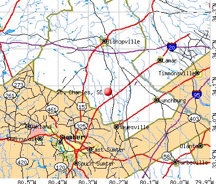 St. Charles, SC map