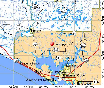 Southport, FL map