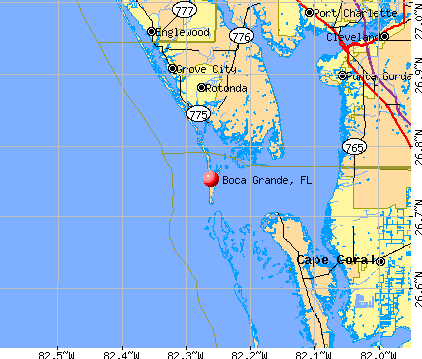 General Map; Google Map; MSN Map. Boca Grande, FL map