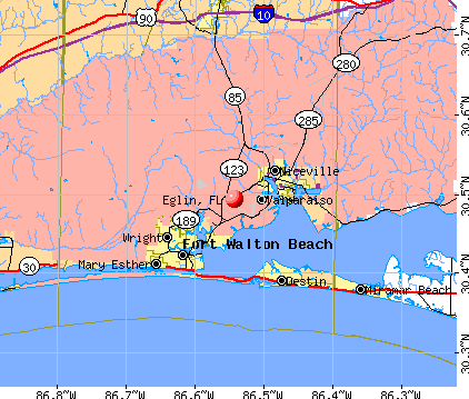 Eglin Florida Fl 32580 Pro Population Maps Real