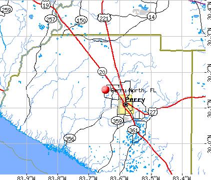 Perry North Florida Fl Profile Population Maps Real Estate