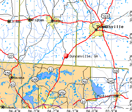 Duncanville, GA map