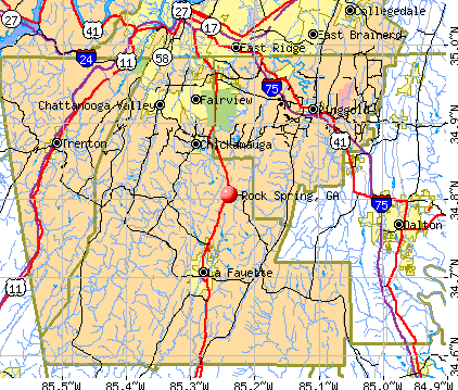 detailed map of ga with cities html with Rock Spring Georgia on Cobb County GA together with Jefferson Georgia additionally Map Of Southeast U S 2 also Maps Tucson additionally Sylvania Georgia.