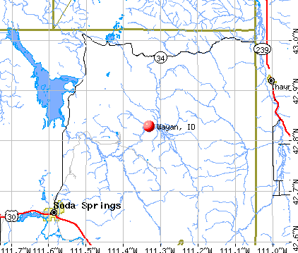 Wayan, ID map