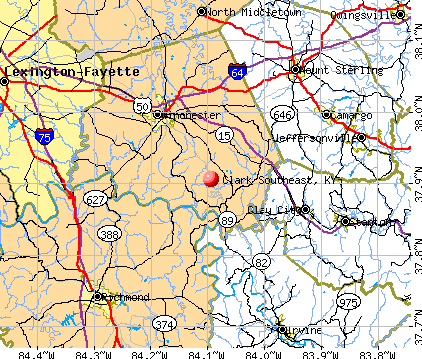 Clark Southeast, Kentucky (KY) profile: population, maps, real estate