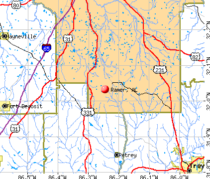 Ramer, Alabama (AL 36069) profile: population, maps, real estate ...