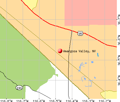 Amargosa Valley, NV map