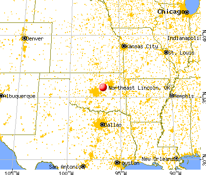 Northeast Lincoln Oklahoma OK 74079 Profile Population
