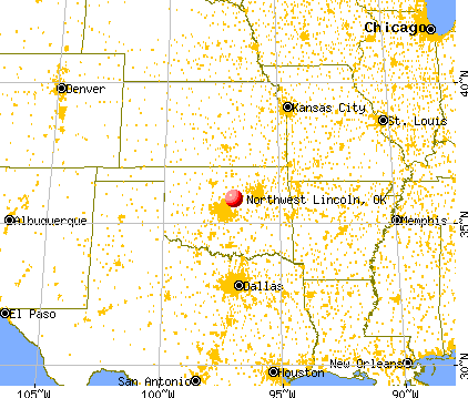 Northwest Lincoln Oklahoma (OK 74875) Profile Population Maps Real Estate Averages Homes ...