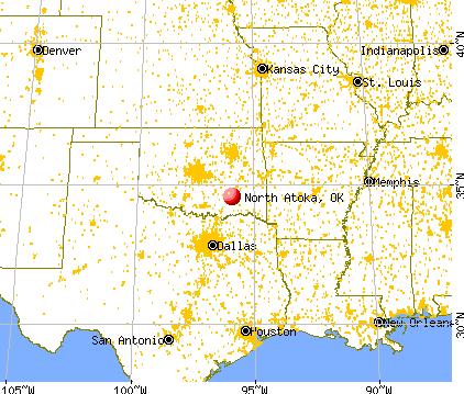 Tulsa Ok Time Zone >> North Atoka, Oklahoma (OK 74569) profile: population, maps ...