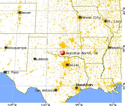 Healdton North, Oklahoma (OK) profile: population, maps ...