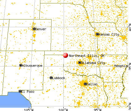 Northeast Ellis Oklahoma OK 73840 Profile Population