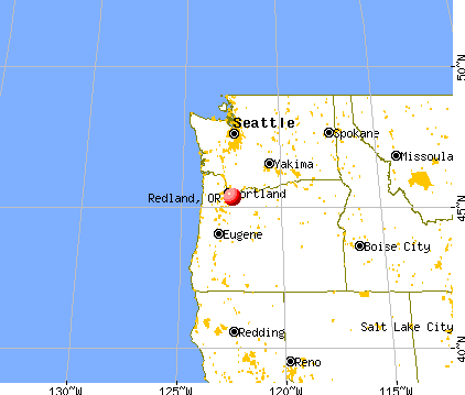 Redland, Oregon map