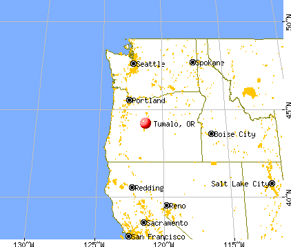 Tumalo, Oregon map