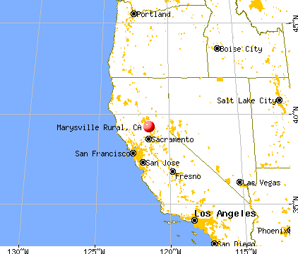 MARYSVILLE Rural, California (CA) profile: population, maps, real ...