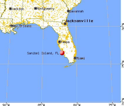 Florida Map Sanibel Island Sanibel Island, Florida (FL 33957) profile: population, maps, real