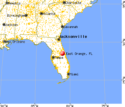 florida map orange beach