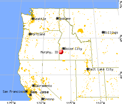 Murphy, Idaho map