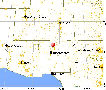Rio Chama, New Mexico (NM 87510) profile: population, maps, real