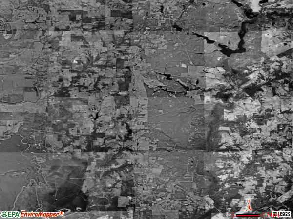 Cayuga satellite photo by USGS