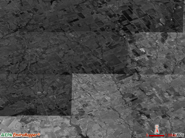 Perry satellite photo by USGS