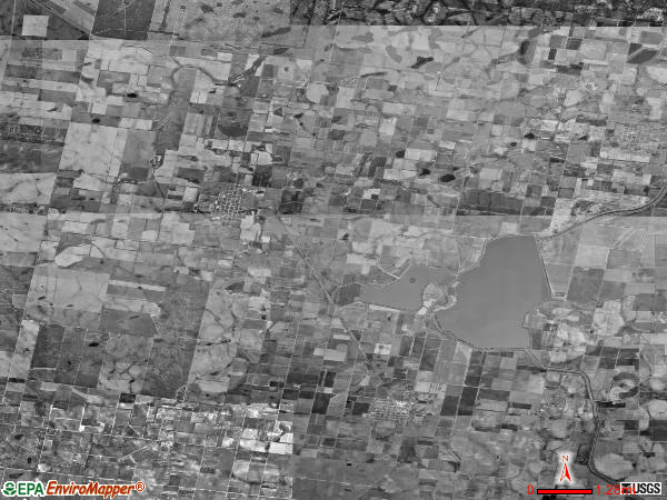 Hargill satellite photo by USGS