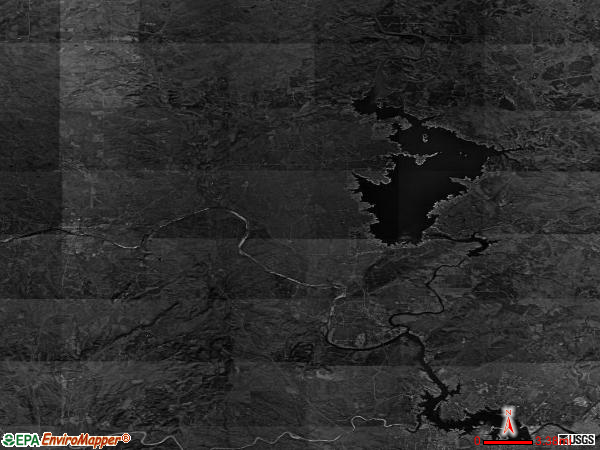 Llano North satellite photo by USGS