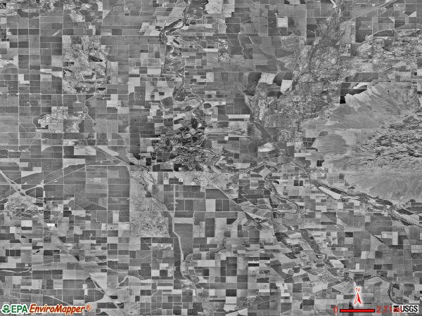 East Colusa satellite photo by USGS
