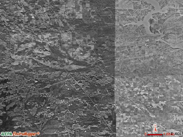 Verbena satellite photo by USGS