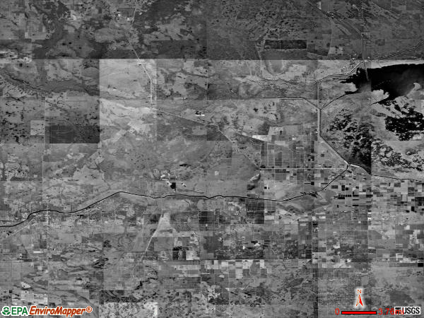 Southwest Glades satellite photo by USGS