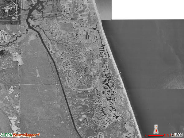 Ponte Vedra satellite photo by USGS