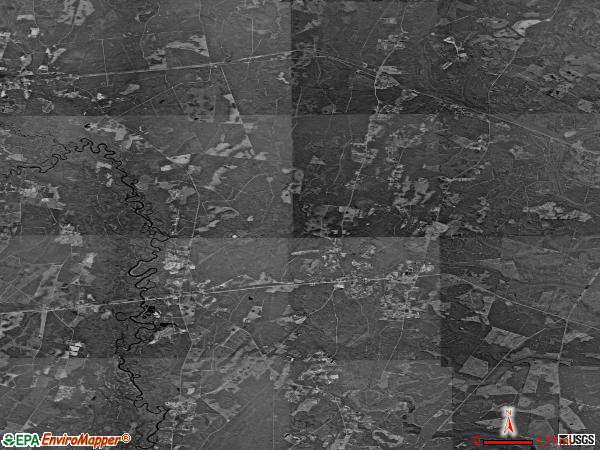 Waynesville satellite photo by USGS