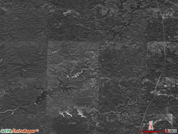 Keavy satellite photo by USGS
