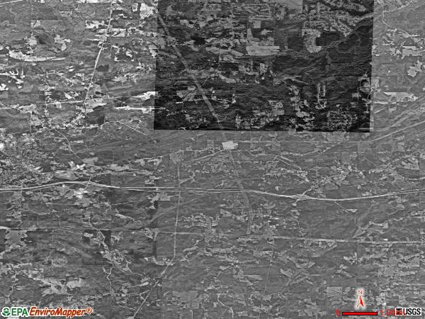 Winston satellite photo by USGS