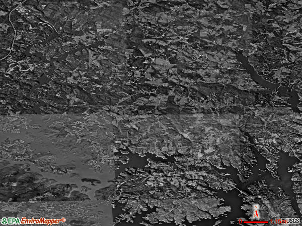 Murrayville satellite photo by USGS