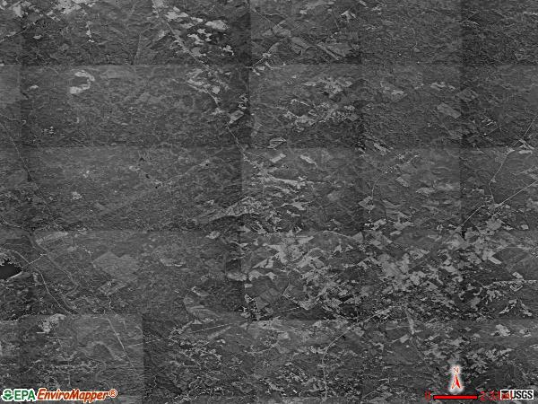 Round Oak satellite photo by USGS