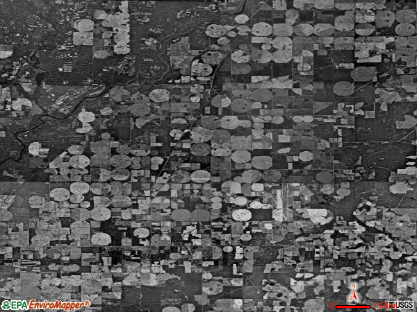 Branchville satellite photo by USGS