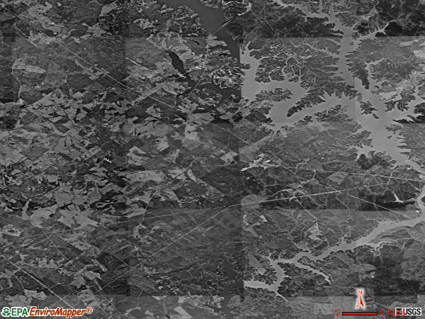 Phoenix satellite photo by USGS