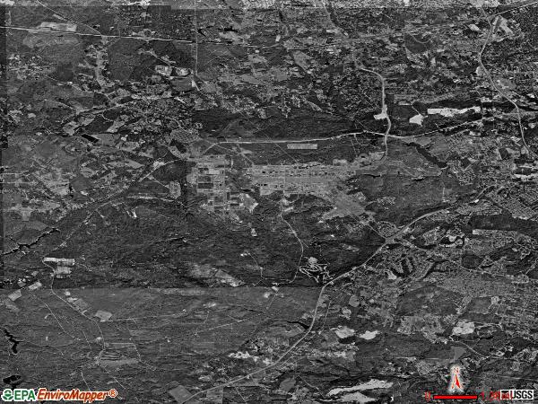 Fort Gordon satellite photo by USGS