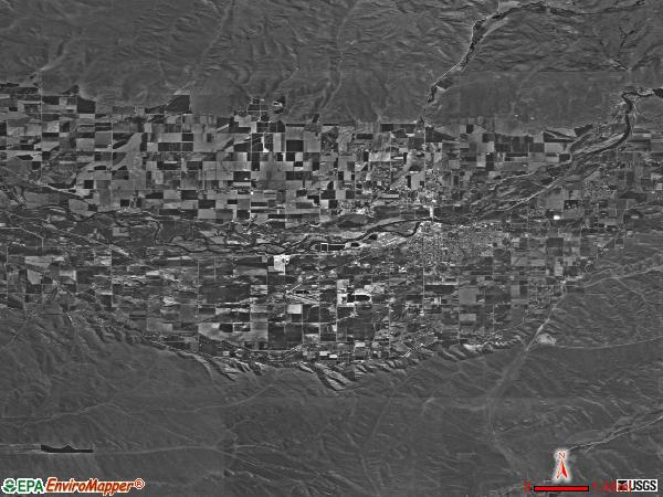 Emmett Valley satellite photo by USGS