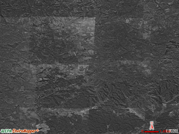 Paint Lick satellite photo by USGS