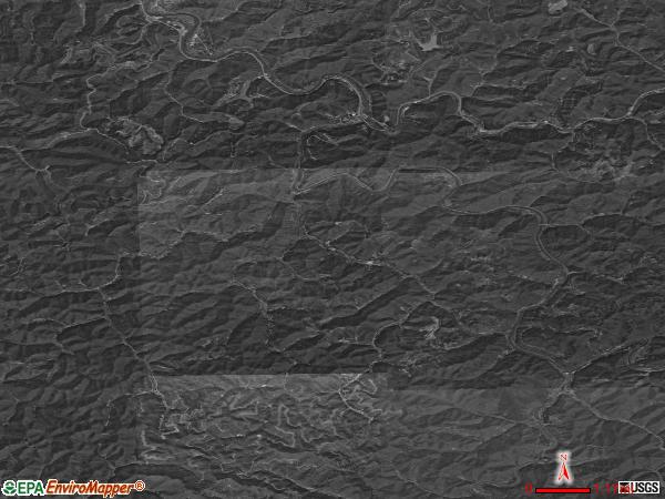 Viper satellite photo by USGS