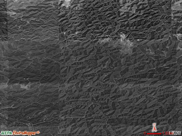 Mayflower satellite photo by USGS