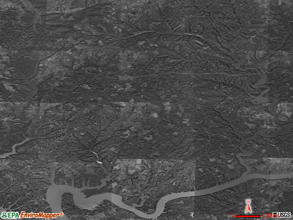 Nancy satellite photo by USGS