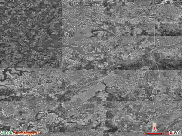 Bremen satellite photo by USGS