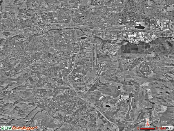 Reno Southeast satellite photo by USGS
