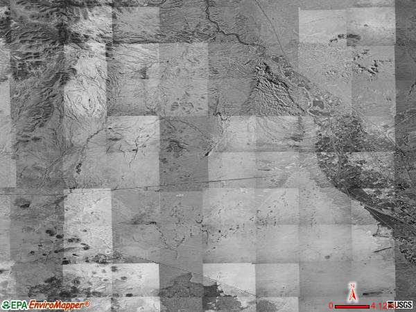 Fairacres satellite photo by USGS